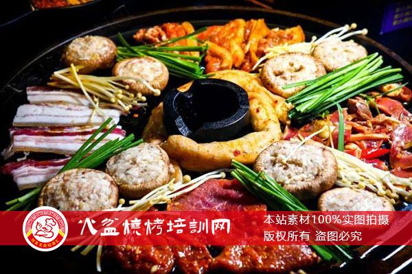 火盆烧烤培训菜品展示