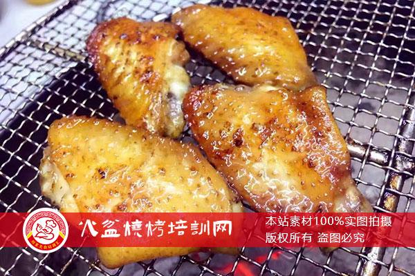 火盆烧烤网烤鸡中翅