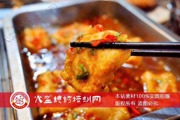 西昌烧烤特色菜包浆豆腐