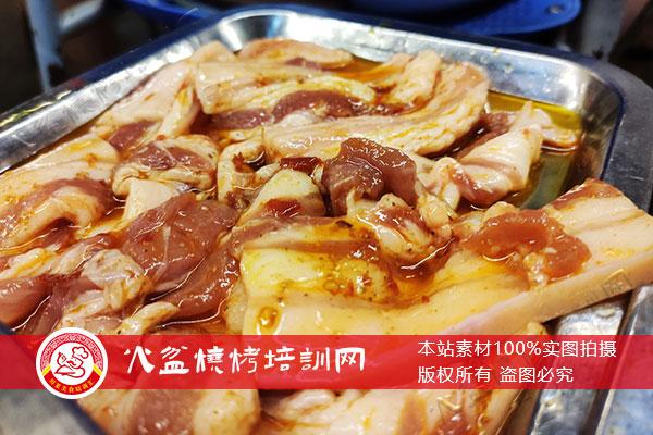 厚切五花肉腌制