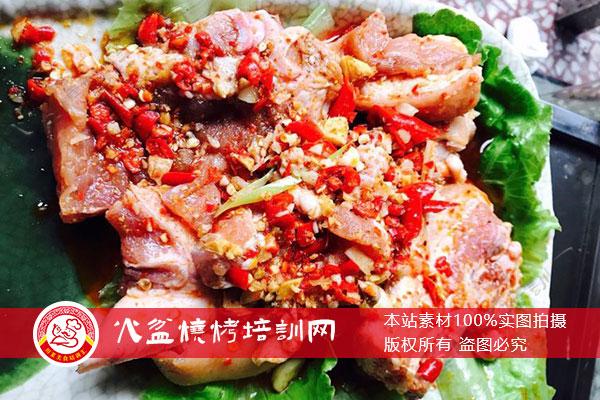 腌制坨坨肉