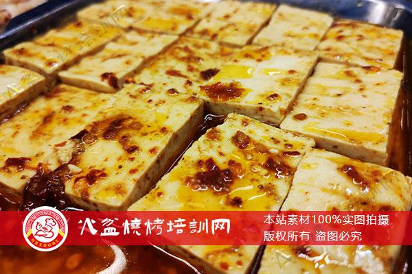 特色菜包浆豆腐