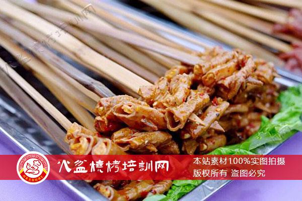 大竹签烧烤烤小肠