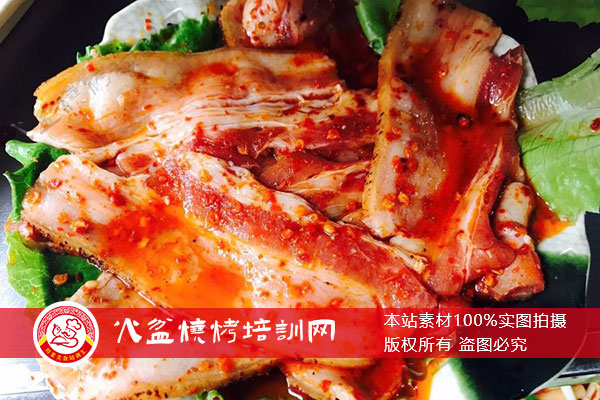 五花肉腌制