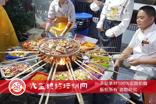 西昌烧烤学员作品展示